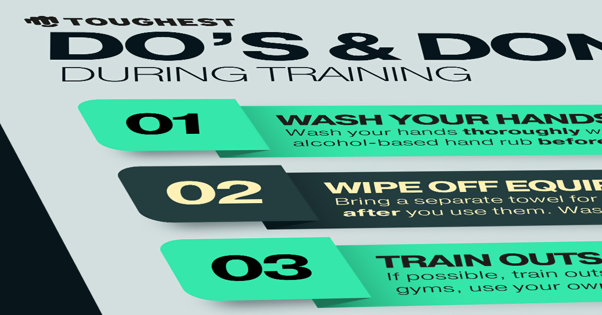 Checklist: Do's & Don'ts during training