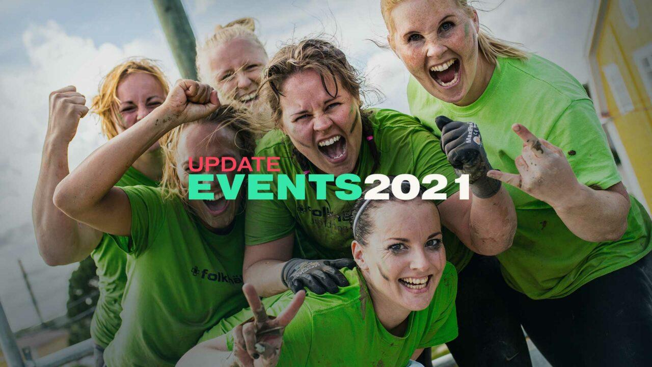 Event updates 2021